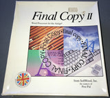 Final Copy II + Extras + Clipart   (Word Processor)