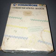 Commodore 64 / 128 Communications Modem (Boxed)