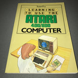 Learning To Use The Atari 400 / 800 Computer