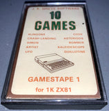 10 Games - GamesTape 1  (Compilation)