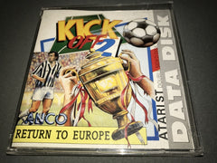 Kick Off 2 - Return To Europe   (Data Disk)