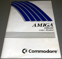 Amiga 1084ST Colour Monitor User Guide