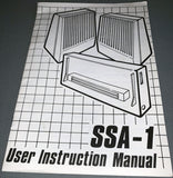 SSA-1 User Instruction Manual for the Amstrad CPC Range