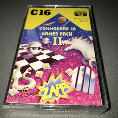 Commodore 16 Games Pack II  /  2   (Compilation)