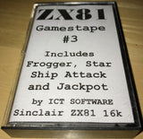 ZX81 GamesTape 3   (Compilation)