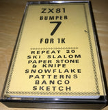 ZX81 Bumper 7 For 1K   (Compilation)