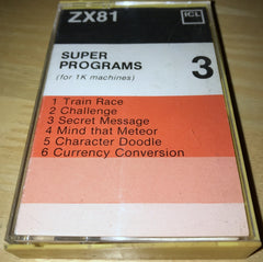 Super Programs 3  (ICL Release)  (Compilation)