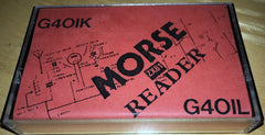 ZX81 Morse Reader (G4OIL / G4OIK)
