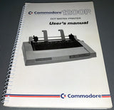 Commodore 1200P Dot Matrix Printer User's Manual
