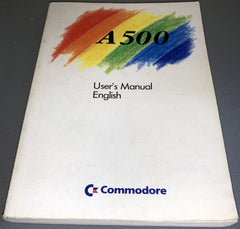 Amiga A500 User's Manual