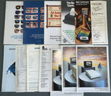 Various historical leaflets, Catalogues and pack-ins for the Acorn Computers Range