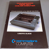 Commodore MCS-801 Dot Matrix Printer User's Guide