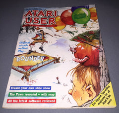 Atari User Magazine - Volume 3, Issue No. 2 (June 1987) - TheRetroCavern.com  - 1