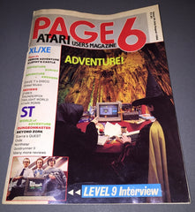 Page 6 - Atari User's Magazine - Issue No. 34 (July/August 1988) - TheRetroCavern.com  - 1