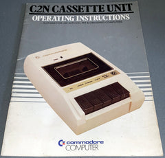 Commodore C2N Datassette User's Guide  (Vertical / PET style)