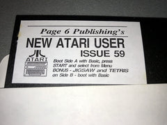 New Atari User - Coverdisk (Issue 59)