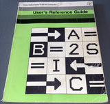 Texas TI-99/4A User's Reference Guide