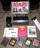 Atari VCS / 2600 Jr - Complete BOXED System