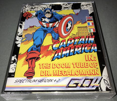 Captain America (In The Doom Tube Of Dr. Megalomann)