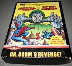The Amazing Spider-Man & Captain America - Dr. Doom's Revenge