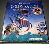 Sid Meier's Colonization  /  Colonisation  (NO MEDIA)
