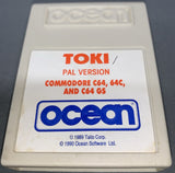 Toki for C64 / 128 / GS