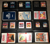 Atari 2600 Games Collection in 6 X Library Cases   (Compilation)