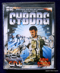 Cyborg - TheRetroCavern.com  - 1