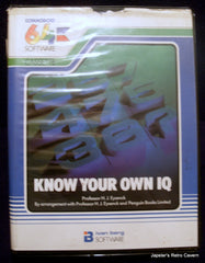 Know Your Own Iq - TheRetroCavern.com  - 1