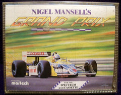 Nigel Mansell's Grand Prix - TheRetroCavern.com  - 1