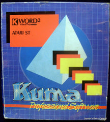 K Word 2 / Kuma Word 2 Word Processor - TheRetroCavern.com  - 1