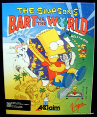 The Simpsons - Bart Vs. The World - TheRetroCavern.com  - 1