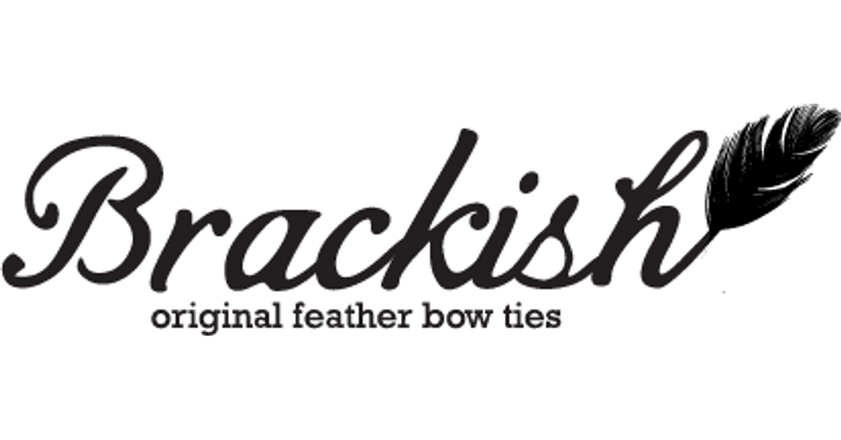 Brackish | Feather Bow Ties & Feather Earrings