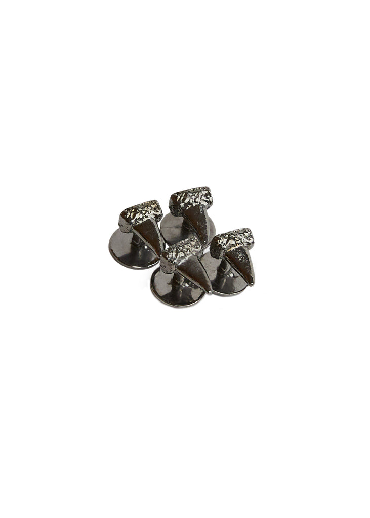 Antiqued Turkey Spur Tux Studs