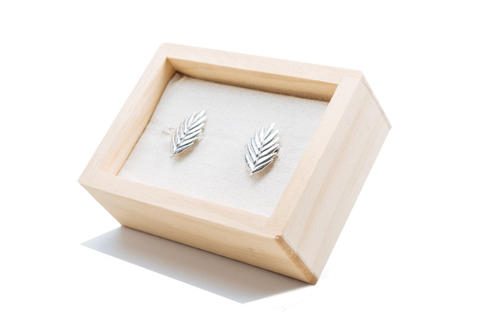 Polished Sea Oat Cufflinks