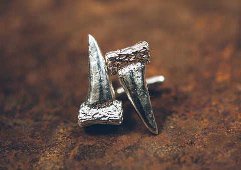 Polished Turkey Spur Cufflinks