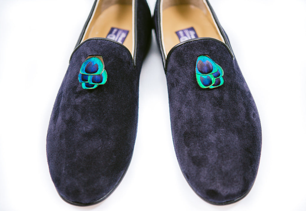 Loafers - Women's - Navy
