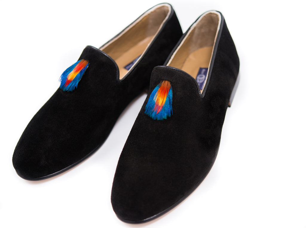Women's Black Loafers