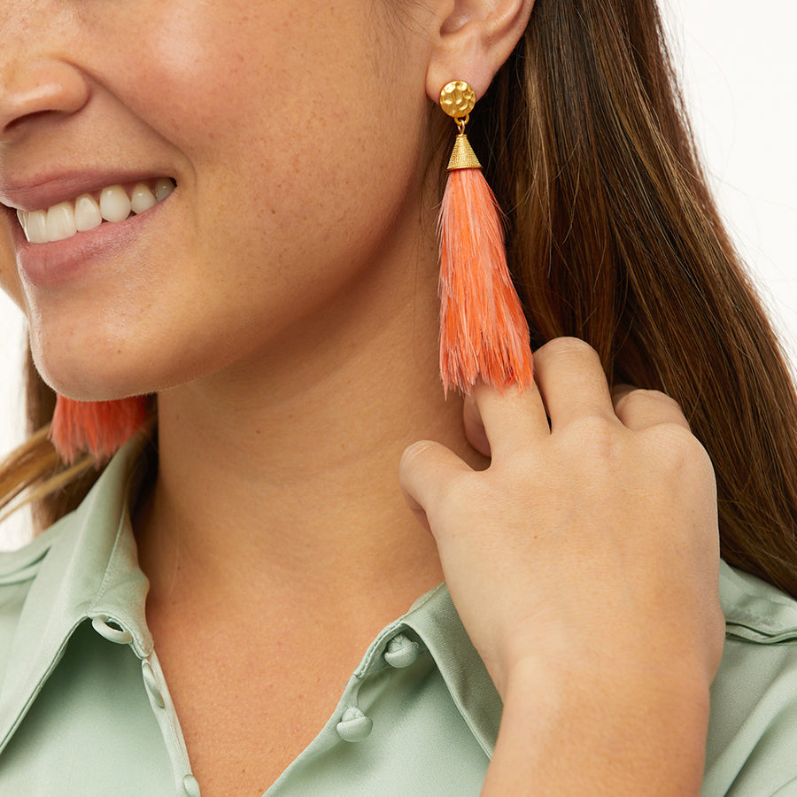 Firelight Statement Earring