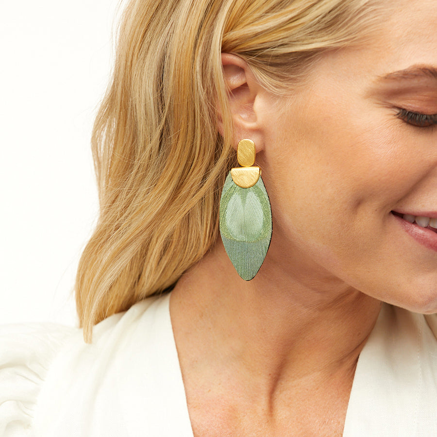 Little Lime Drop Earring