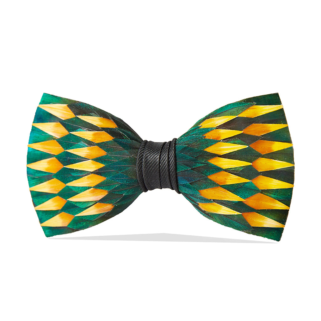 9c057eb60955 Brackish | Feather Bow Ties & Accessories