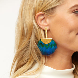 Tucket Blue Earring