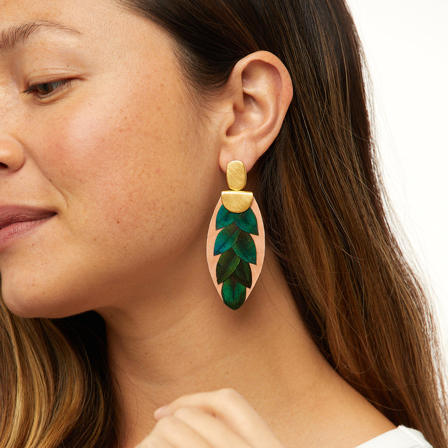 Verde Drop Earrings