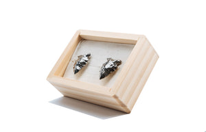 Antiqued Arrowhead Cufflinks