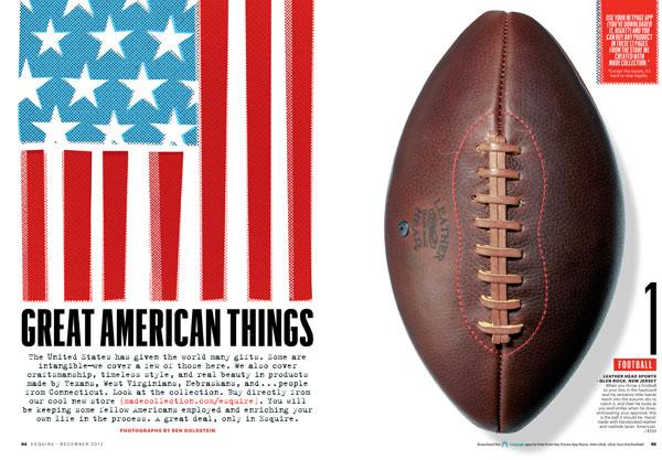 Esquire Magazine: Great American Things