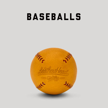 Handcrafted Leather Baseballs