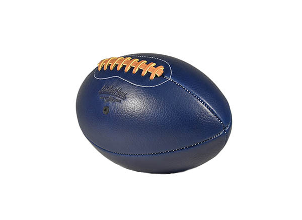 Pro Series Horween Leather Football - Blue