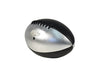 Pro Series Silver Shadow Leather Football - Silver & Black