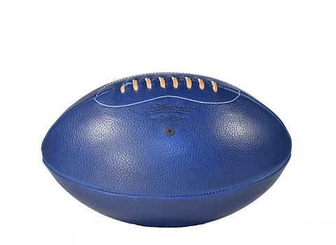 Horween Leather Rugby Ball - Blue