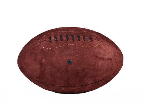 Suede Rugby Ball - Merlot